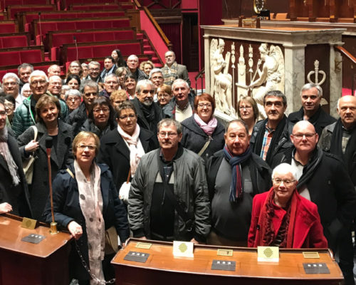 Visite guidée de l'Assemblée nationale