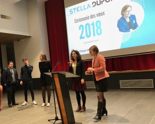 Vœux Stella Dupont 2018